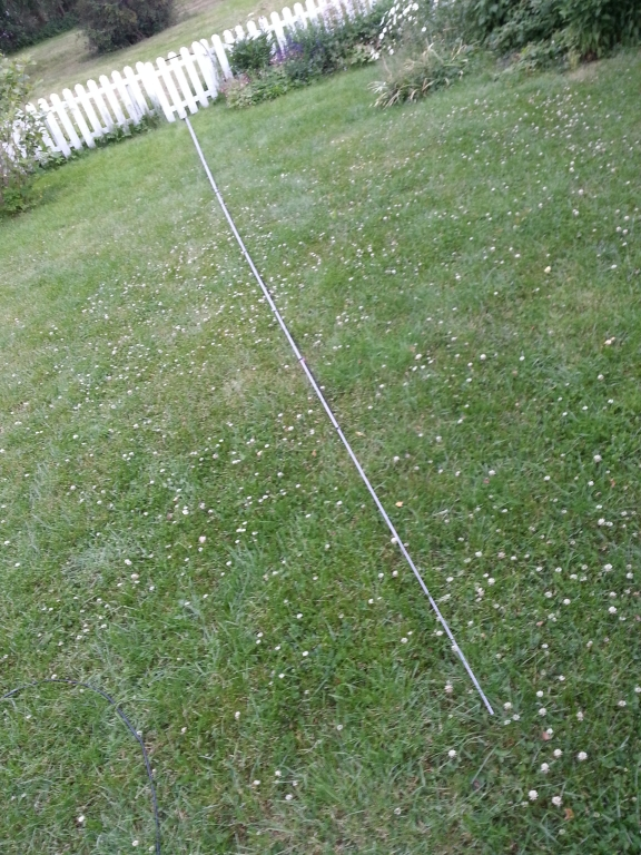 10m long glassfibre rod